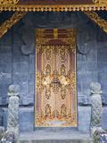 Beautiful Gold Door at Besakih Temple (Pura Besakih), Bali, Indonesia, Southeast Asia, Asia Photographic Print by Matthew Williams-Ellis