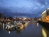 St. Augustine's Reach, Harbour, Bristol, England, United Kingdom, Europe Photographic Print by Rob Cousins