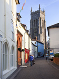 High Street and Church of St. Peter and St. Paul, Cromer, Norfolk, England, United Kingdom, Europe Photographic Print by Mark Sunderland