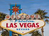 Welcome to Las Vegas Sign, Las Vegas, Nevada, United States of America, North America Lámina fotográfica por Michael DeFreitas