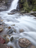 Baring Creek Falls, Glacier National Park, Montana, United States of America, North America Photographic Print by James Hager
