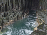 Fingal's Cave, Isle of Staffa, Inner Hebrides, Scotland, United Kingdom, Europe Photographic Print by Mark Harding