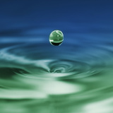 Falling Drop of Water Photographic Print by Antonio Busiello