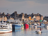 The Harbour at Saint Vaast La Hougue, Cotentin Peninsula, Normandy, France, Europe Photographic Print by Julian Elliott