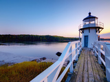 Doubling Point Light, Maine, New England, United States of America, North America Photographic Print by Alan Copson