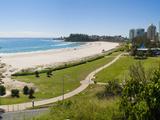 Coolangatta Beach and Town Panoramic, Gold Coast, Queensland, Australia, Pacifc Reproduction photographique par Matthew Williams-Ellis