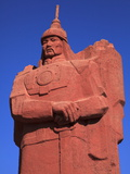 Genghis Khan Statue in Muron, Mongolia, Central Asia, Asia Photographic Print by Stuart Keasley