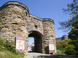 Entrance to Scarborough Castle, Scarborough, North Yorkshire, Yorkshire, England, UK, Europe Photographic Print by Mark Sunderland