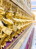 Guardian Statues at Temple of Emerald Buddha (Wat Phra Kaew), Grand Palace, Bangkok, Thailand Photographic Print by Matthew Williams-Ellis