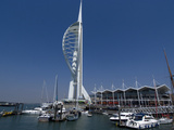 Spinnaker Tower from Gunwharf, Portsmouth, Hampshire, England, United Kingdom, Europe Photographic Print by Ethel Davies