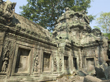 Ta Prohm, Angkor Archaeological Park, UNESCO World Heritage Site, Siem Reap, Cambodia, Indochina Photographic Print by Richard Maschmeyer