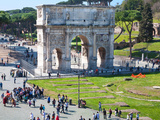 The Arch of Constantine, Rome, Lazio, Italy, Europe Photographic Print by Adina Tovy