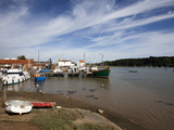 Boats at Woodbridge Riverside, Woodbridge, Suffolk, England, United Kingdom, Europe Photographic Print by Mark Sunderland