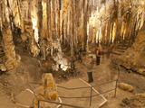 Inside the Caves D'Arta, Llevant, Mallorca, Balearic Islands, Spain, Europe Photographic Print by Andrew Stewart