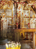 Golgotha, Crucifixion Site, Church of Holy Sepulchre, UNESCO World Heritage Site, Jerusalem, Israel Photographic Print by Gavin Hellier