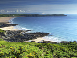 Woolacombe Sands and Baggy Point, Devon, England, United Kingdom, Europe Photographic Print by Jeremy Lightfoot