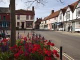 Market Hill, Woodbridge, Suffolk, England, United Kingdom, Europe Photographic Print by Mark Sunderland