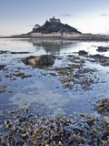 St. Michael's Mount Near to Marazion at Dawn, Cornwall, England, United Kingdom, Europe Photographic Print by Julian Elliott