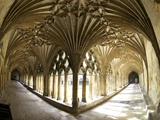 The Great Cloisters, Canterbury Cathedral, UNESCO World Heritage Site, Canterbury, Kent, England Photographic Print by Peter Barritt