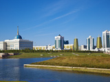 View of City, Astana, Kazakhstan, Central Asia, Asia Photographic Print by Jane Sweeney