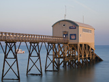 Lifeboat Station, Selsey, West Sussex, England, United Kingdom, Europe Photographic Print by Jean Brooks