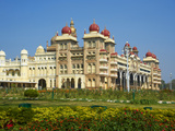 Maharaja's Palace, Mysore, Karnataka, India, Asia Photographic Print by  Tuul