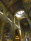 Saint Volodymyr's Cathedral, Kiev, Ukraine, Europe Photographic Print by Graham Lawrence