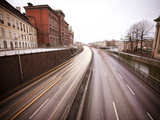 View over Highway Through Gamla Stan, Stockholm, Sweden, Scandinavia, Europe Photographic Print by Ian Egner