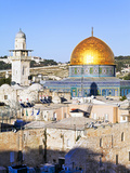 Dome of the Rock, Temple Mount, Old City, UNESCO World Heritage Site, Jerusalem, Israel Photographic Print by Gavin Hellier
