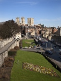 York Minster from the City Walls, York, Yorkshire, England Photographic Print by Mark Sunderland