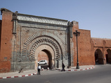 City Gate Near Kasbah, Marrakesh, Morocco, North Africa, Africa Photographic Print by Frank Fell