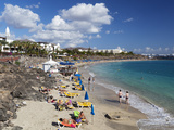 Beach View, Playa Blanca, Lanzarote, Canary Islands, Spain, Atlantic, Europe Photographic Print by Stuart Black