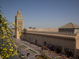 Africa, North Africa, Morocco, Marrakesh, D'El Mansour Mosque Photographic Print by Frank Fell