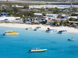 Governor's Beach on Grand Turk Island, Turks and Caicos Islands, West Indies, Caribbean Photographic Print by Richard Cummins