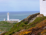 South Stack (Ynys Lawd), an Island Situated Just Off Holy Island, North West Coast of Anglesey, UK Photographic Print by Raj Kamal