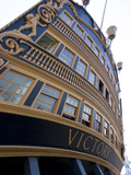 Admiral Nelson's Ship, Hms Victory, Portsmouth Historic Docks, Portsmouth, Hampshire, England, UK Photographic Print by Ethel Davies