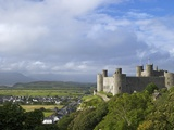 Harlech Castle in Summer Sunshine, UNESCO World Heritage Site, Gwynedd, Wales, UK, Europe Photographic Print by Peter Barritt
