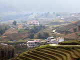 Landscape of Cat Cat Village, Sapa, Lao Cai, Vietnam, Indochina, Southeast Asia, Asia Photographic Print by Lynn Gail