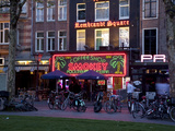 Rembrandtplein at Dusk, Amsterdam, Holland, Europe Photographic Print by Frank Fell