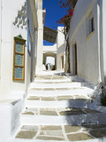 Traditional Village of Lefkes, Paros, Cyclades, Aegean, Greek Islands, Greece, Europe Photographic Print by  Tuul