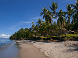 Tropical Beach, Solomon Islands, Pacific Photographic Print by Michael Runkel
