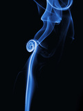 Picture of Smoke with Black Background Photographic Print by Antonio Busiello