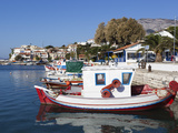 Fishing Harbour, Ormos Marathokampos, Samos, Aegean Islands, Greece Photographic Print by Stuart Black