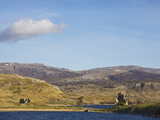 Castle Ardvreck, Loch Assynt, Near Lochinver, Sutherland, Highlands, Scotland, UK, Europe Photographic Print by Jean Brooks
