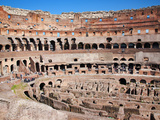The Amphitheatre of the Colosseum, Rome, Lazio, Italy, Europe Photographic Print by Adina Tovy