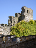 Scarborough Castle Keep, Scarborough, North Yorkshire, Yorkshire, England, United Kingdom, Europe Photographic Print by Mark Sunderland
