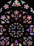 St. Vitus's Cathedral Rose Window, Prague, Czech Republic, Europe Photographic Print by  Godong