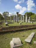 Ruins of Kujjatissa Pabbata, Mahavihara Monastery, UNESCO World Heritage Site, Sri Lanka Photographic Print by Ian Trower