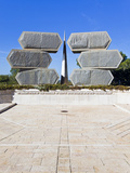 Yad Vashem Holocaust Memorial, Monument to Jewish Soldiers Who Fought Germany, Jerusalem, Israel Photographic Print by Gavin Hellier