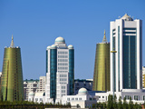City Skyline, Astana, Kazakhstan, Central Asia, Asia Photographic Print by Jane Sweeney